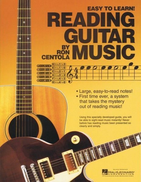 reading guitar music book sheet music new 000333523 ebay. Black Bedroom Furniture Sets. Home Design Ideas