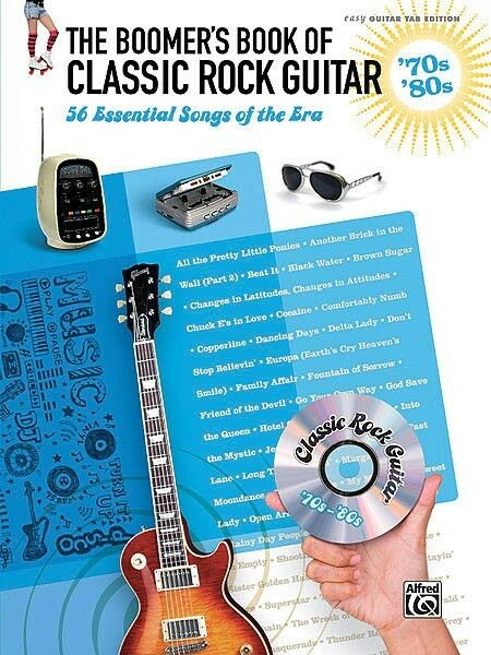 Classic Book Cover Guitar : The boomer s book of classic rock guitar sheet