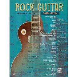Kyпить The Rock Guitar Songbook Volume 1 1950s-1970s Sheet Music Guitar Tab 000322449 на еВаy.соm