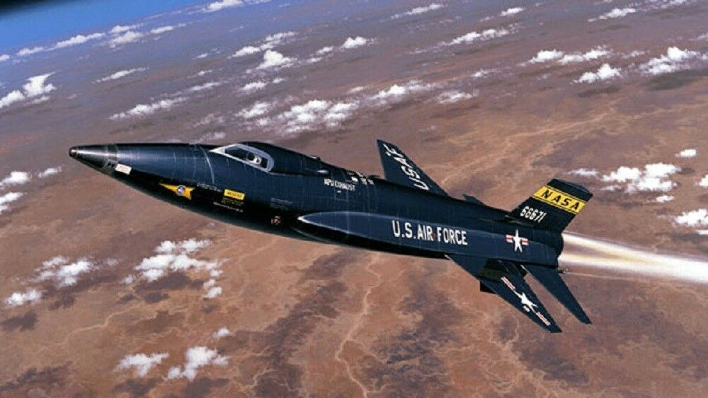 North American X-15 Experimental Rocket Powered Aircraft ...