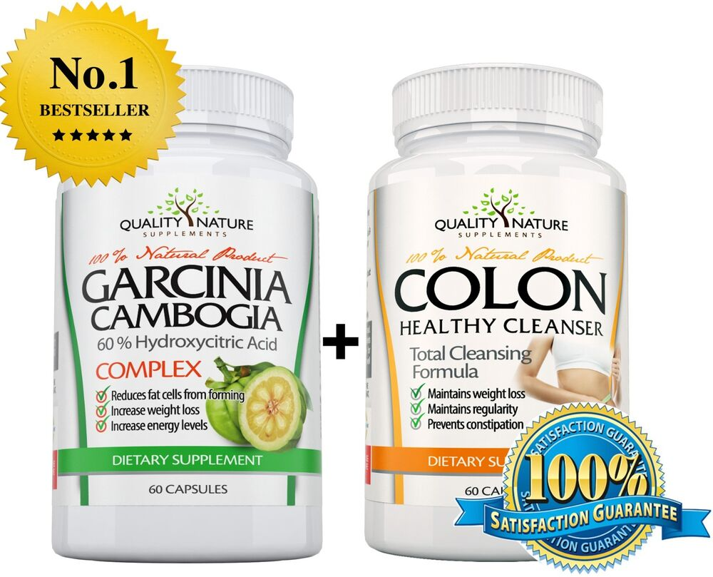 100 pure garcinia cambogia colon cleanse detox weight loss diet pill ebay. Black Bedroom Furniture Sets. Home Design Ideas