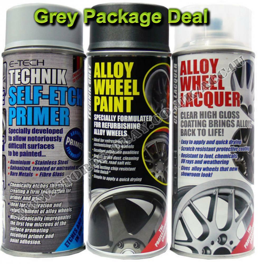 e tech professional grey car alloy wheel spray paint. Black Bedroom Furniture Sets. Home Design Ideas