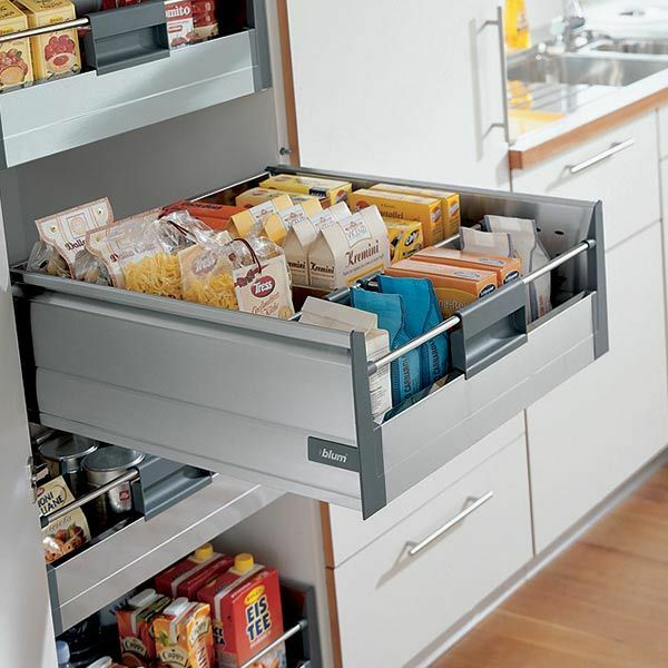Kitchen Cabinet Drawer Kits: Blum Tandembox 'Plus' Inner Deep Drawer Kit With Blumotion