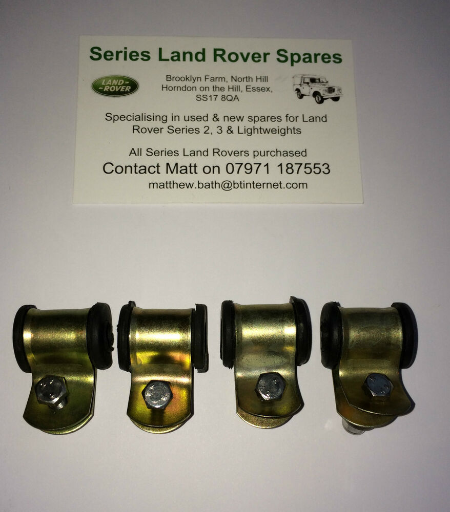 Land Rover Series & Lightweight Rear Brake Pipe Clip