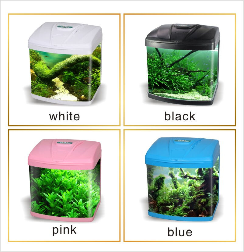 15litre Nano Aquarium Fish Tank Tropical Coldwater Led