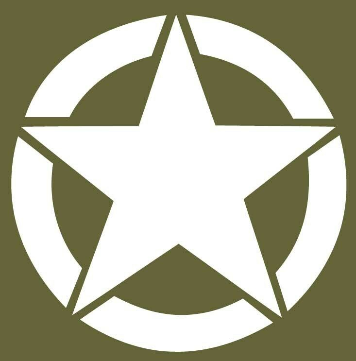 Us Star Sticker