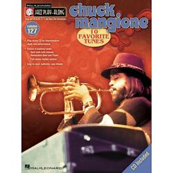 Chuck Mangione Jazz Lead Sheets Play Along Book and CD NEW 000843188