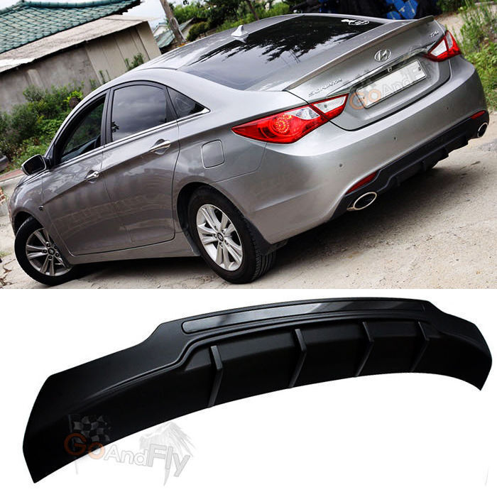 Oem Rear Bumper Diffuser Under Cover For Hyundai I45 Sonata 2010 2013 Ebay