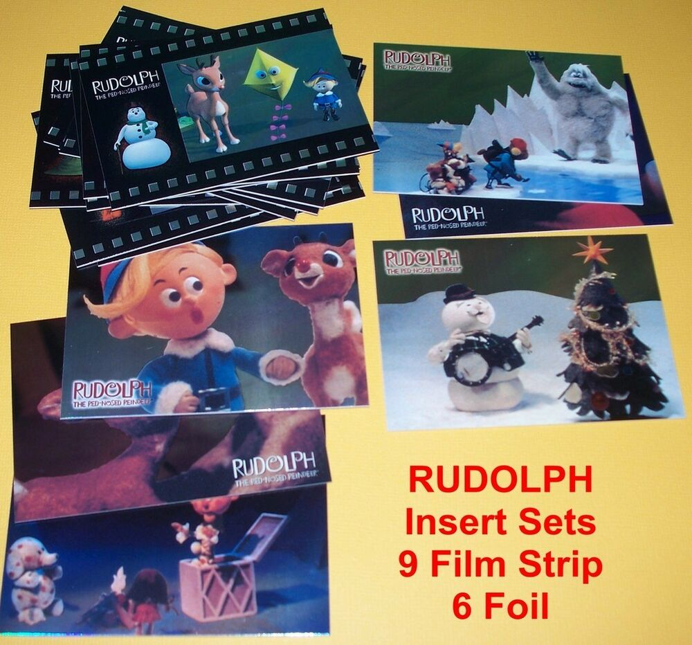 RUDOLPH the Red Nosed Reindeer Trading Cards Chase Set | eBay