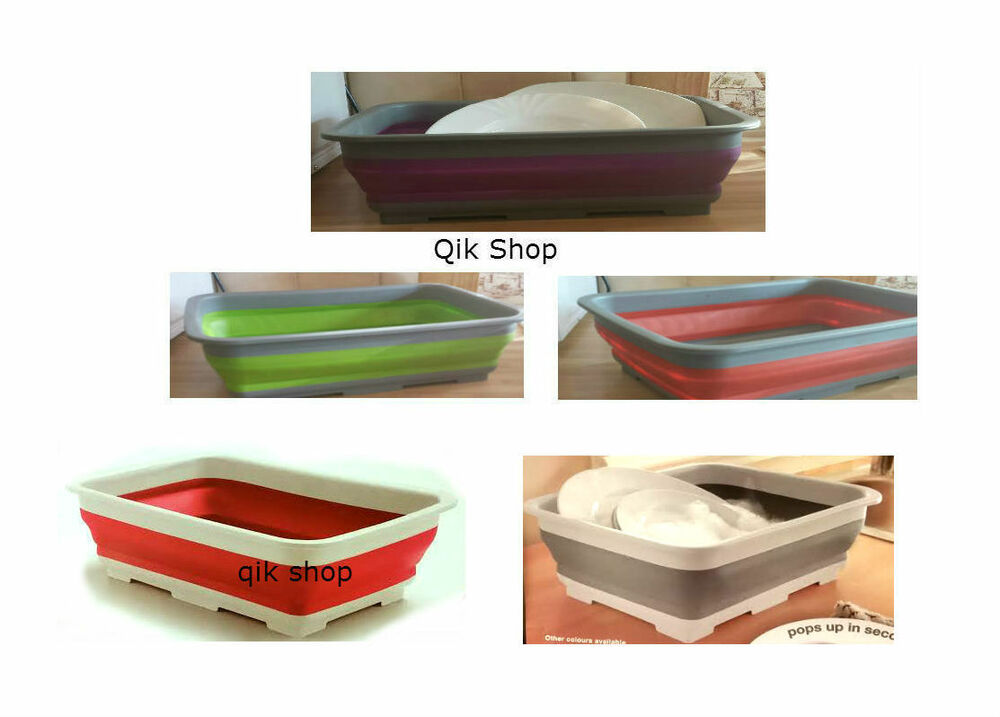 Collapsible Washing Up Bowl Kitchen Camping And Caravaning