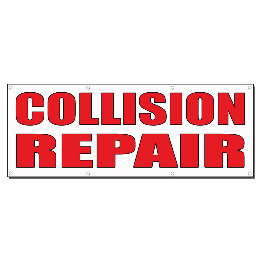 Shop Signs Collision Services Autos Post