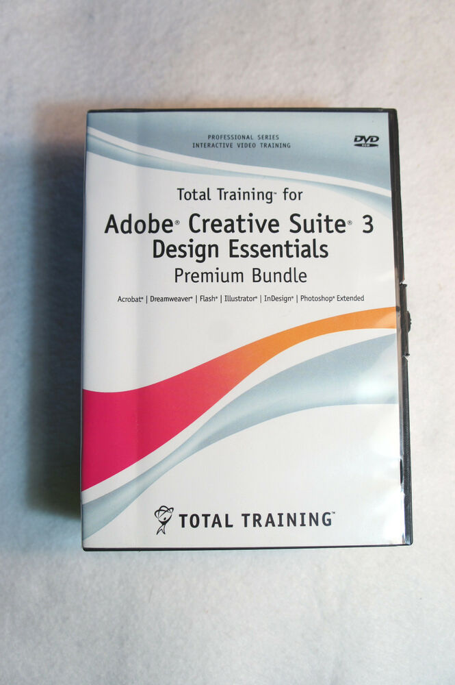 Total training for adobe creative suite 3 design for Adobe digital publishing suite pricing