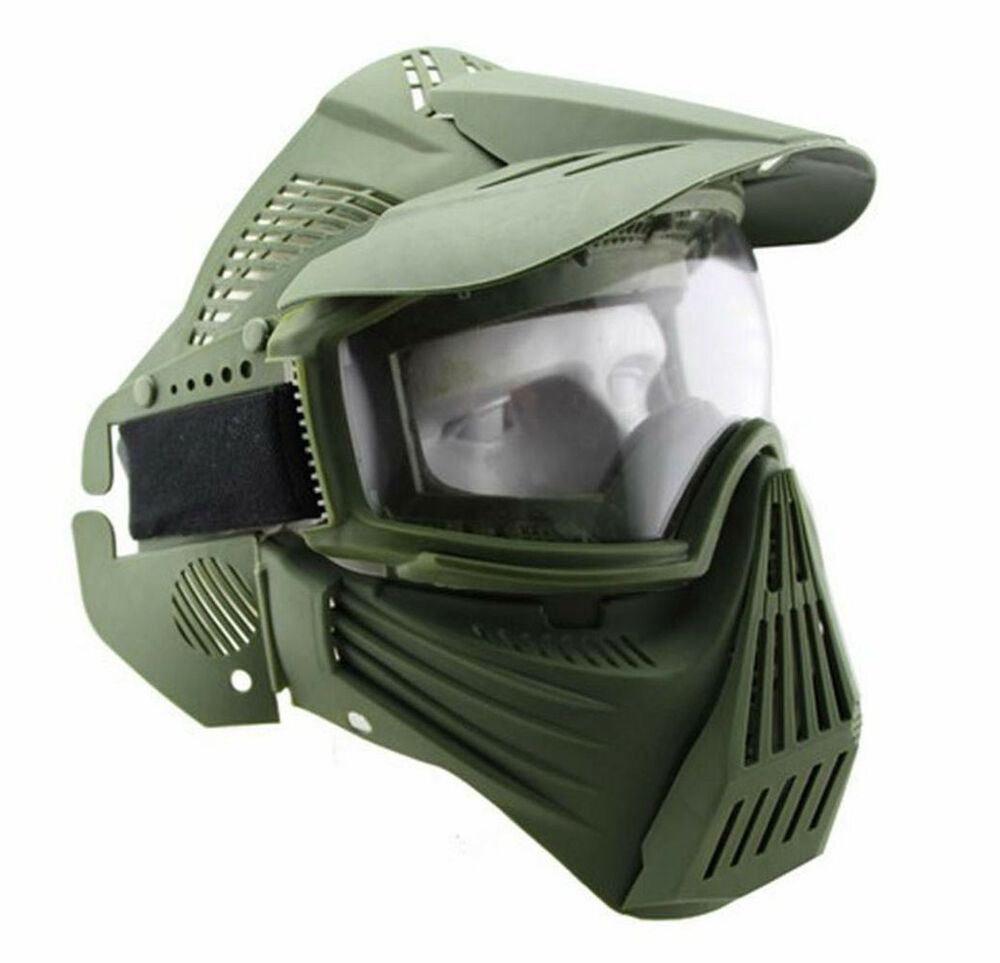 how to make an airsoft mask