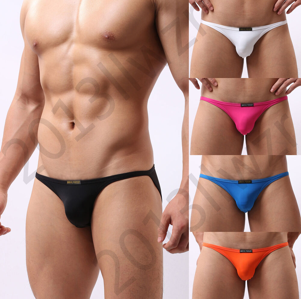 Bikini briefs is a blend of exotic looks of bikini and the elegance of briefs. Thus, you can get both functionality and fashion in one go. The devilish designs of string bikini reveals a little more than the usual men's underwear.