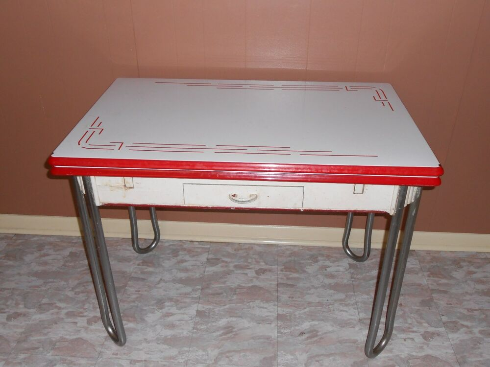 Vintage Kitchen Tables Value