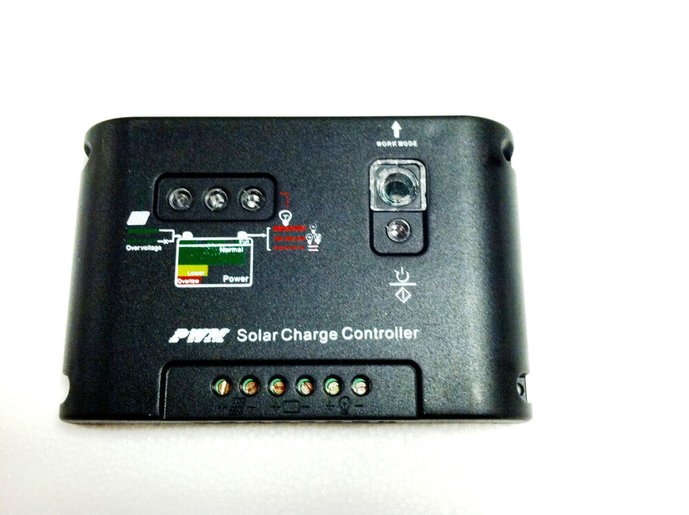 20a Solar Charge Controller 12v Off Grid Boat Rv Pwm For