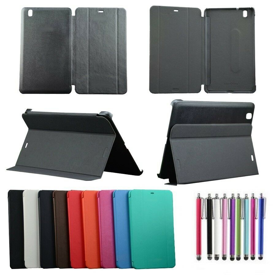 housse coque etui book cover pour galaxy tab pro 8 4 10 1 stylet ebay