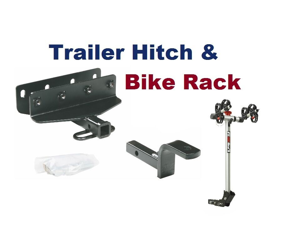 Class Ii Trailer Hitch Amp Bike Rack Fits A Jeep Wrangler