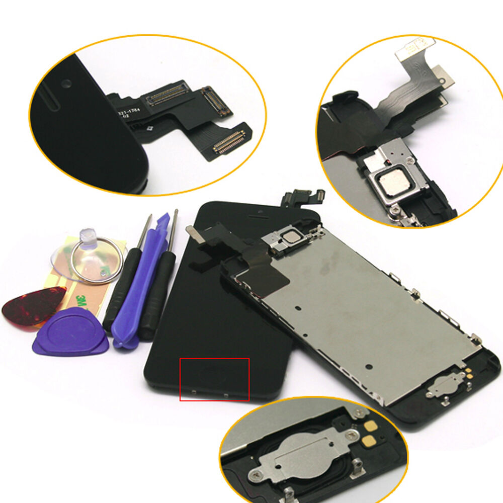 iphone 5c home button not working iphone 5c lcd dispaly screen digitizer assembly 19313
