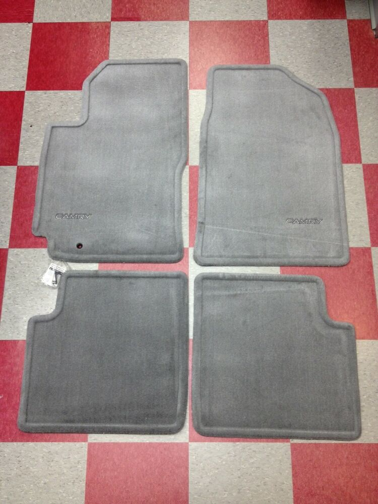 1997 2001 camry carpet floor mats blue gray 00200 32970 33 for Original toyota floor mats