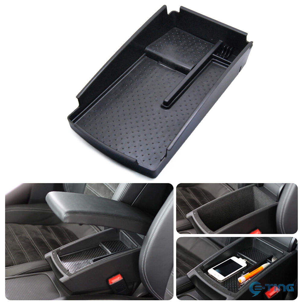 Armrest Box Glove Box Accessory Secondary Storage For Vw