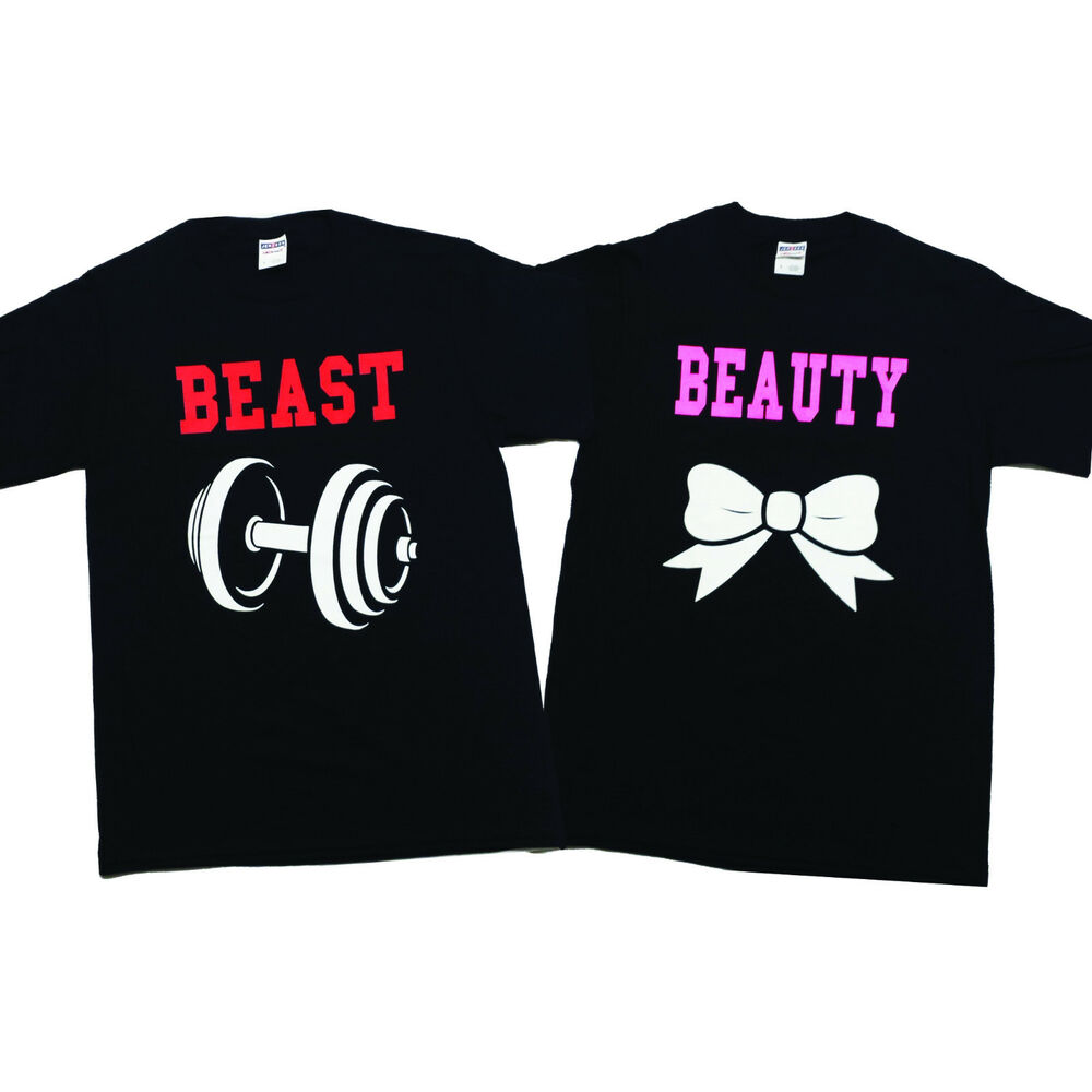 Beauty and the Beast Tshirt Matching Unisex Funny Cute ...
