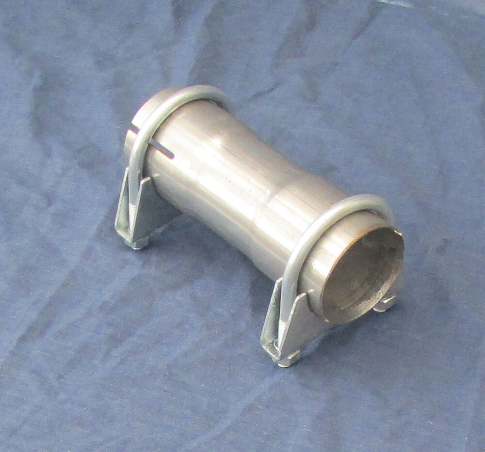 Exhaust sleeve pipe repair connector stainless