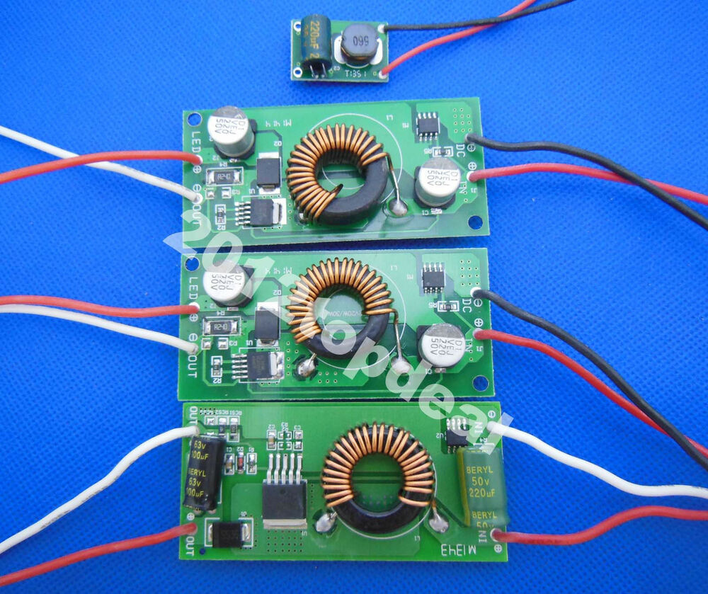 10w 20w 30w 50w Constant Current Led Driver Dc12v To Dc30