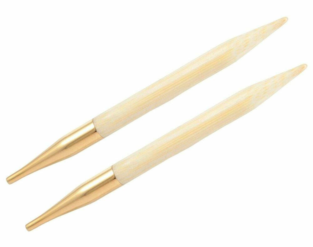 Circular Knitting Needles : KnitPro Bamboo Interchangeable Circular Knitting Needle Tips eBay