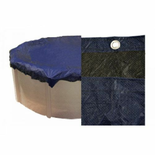 24 39 round 10 yr warranty above ground swimming pool winter for Above ground pool winter cover ideas