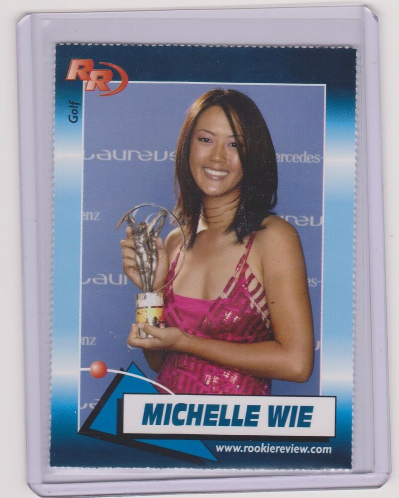 2004 ROOKIE REVIEW MICHELLE WIE CARD #96