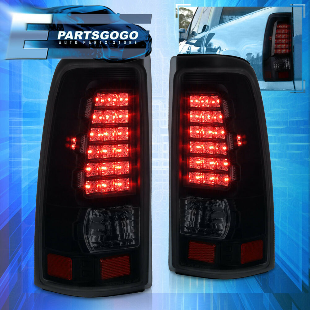 New 03 06 Chevy Silverado 1500 2500 Hd Led Tail Lights