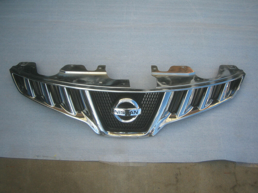 Nissan Murano Grille Grill Factory Oem 2009 2010 Chrome Ebay