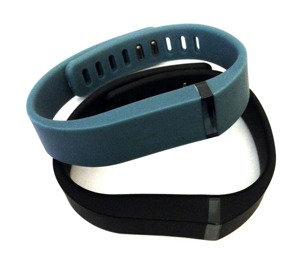 Black Slate Band : Large slate black for fitbit flex wristband bracelet
