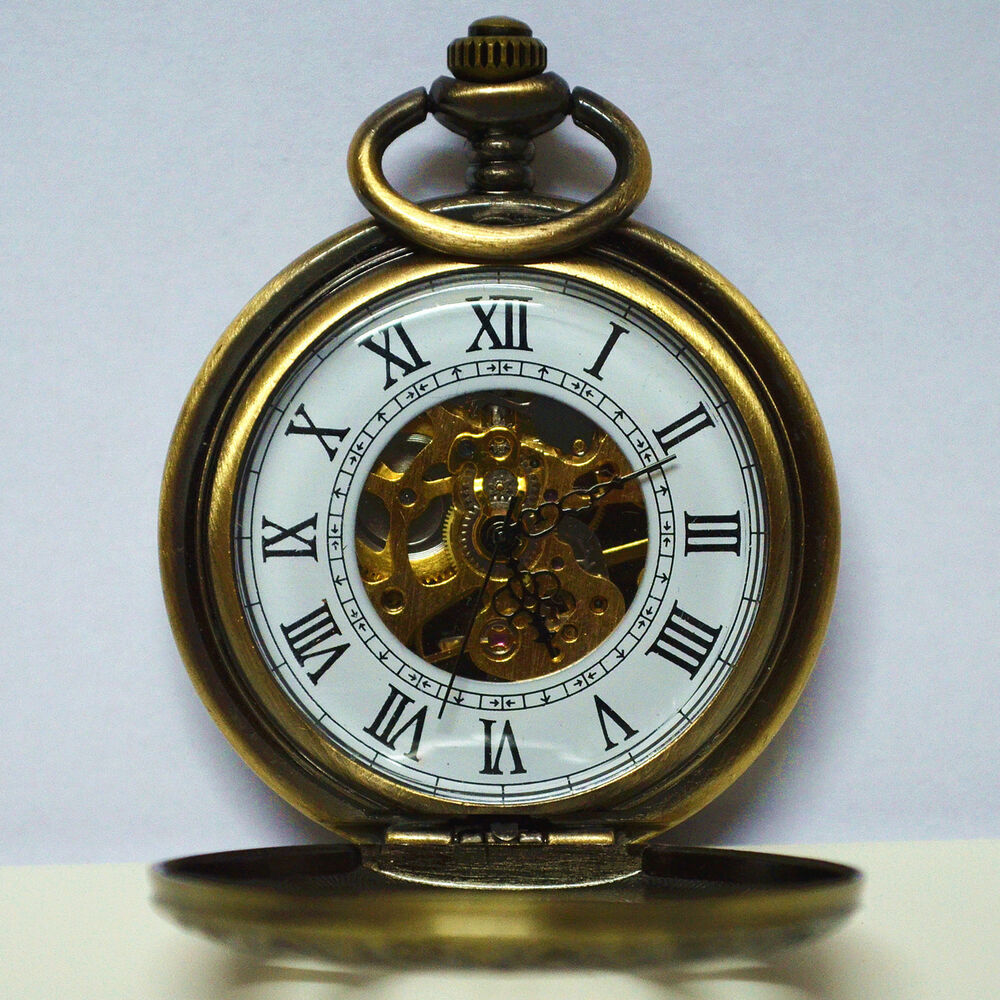 automatic antique bronze number hollow