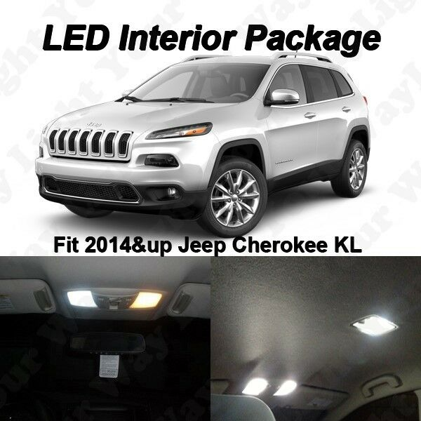 2015 Jeep Cherokee Interior: 9 X White SMD LED Interior Lights Kit For 2014 2015 Jeep