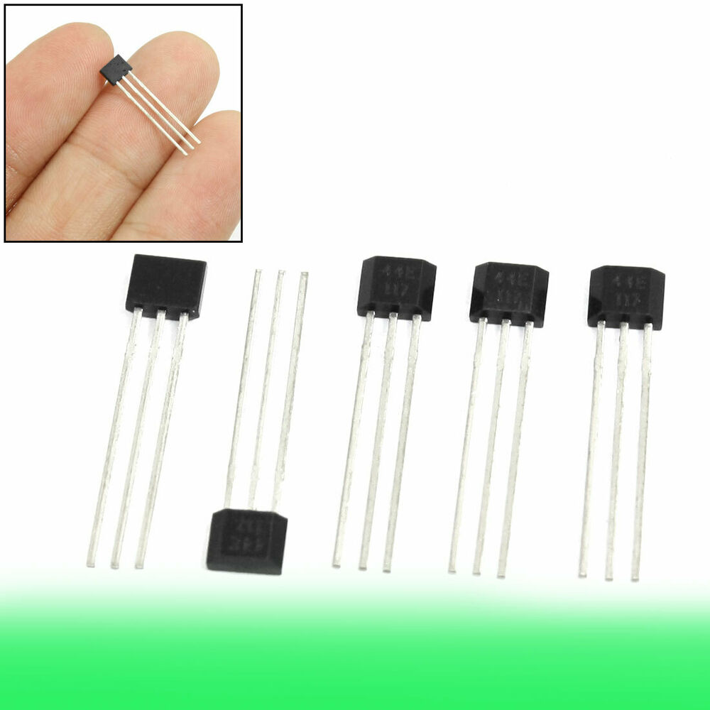 5 pcs oh44e a3144e 44e hall effect ic sensor for contactless switching