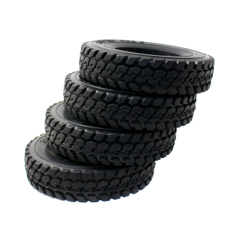 For Hard Rubber Tricycle Tires : Rc hard rubber tires pc mm type for tamiya scale