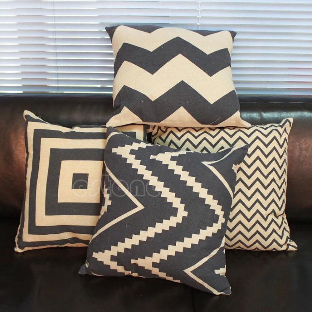 Gracious Home Decorative Pillows : Fashion Home Decorative Pillow Covers Room Decors Car Throw Cushion Shell Covers eBay