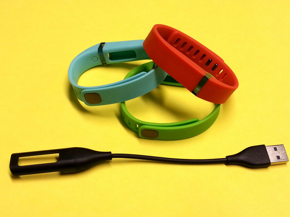 3 Small TEAL, TANGERINE, LIME for FitBit FLEX Wristband ...