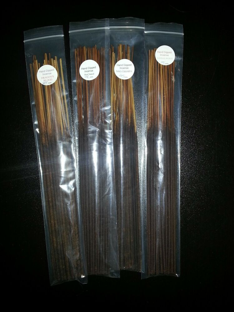 100 Handmade Gifts Under Five Dollars: 100 Handmade Hand Dipped Incense Sticks - Pick 4 Scents