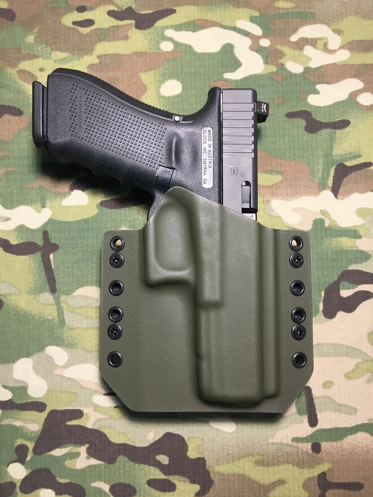 OD Green Kydex Glock 17/22/31 Holster | eBay