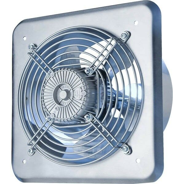 Extractor Fans Industrial : Industrial extractor fan ducting mm quot v m
