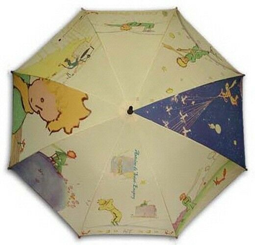 le petit prince painting long size automatic umbrella ebay. Black Bedroom Furniture Sets. Home Design Ideas
