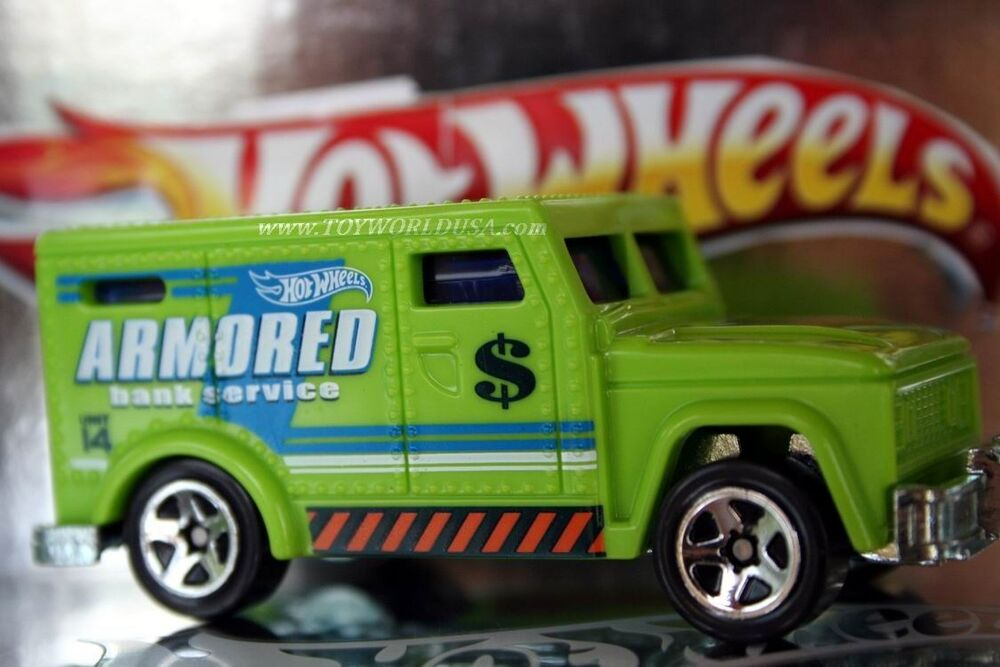 2014 Hot Wheels Police Pursuit Armored Truck   eBay