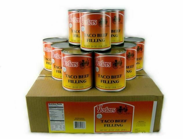 Yoders Canned Food