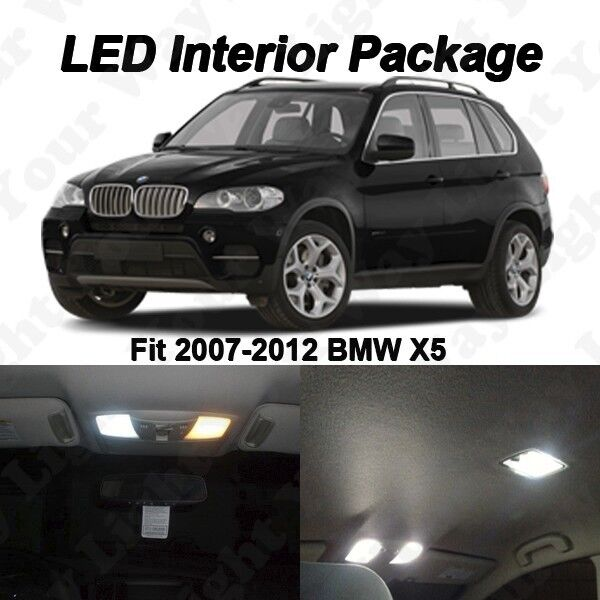 20 X Xenon White SMD LED Interior Lights Package Kit For