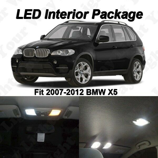2013 Bmw X6 Interior: 20 X Xenon White SMD LED Interior Lights Package Kit For