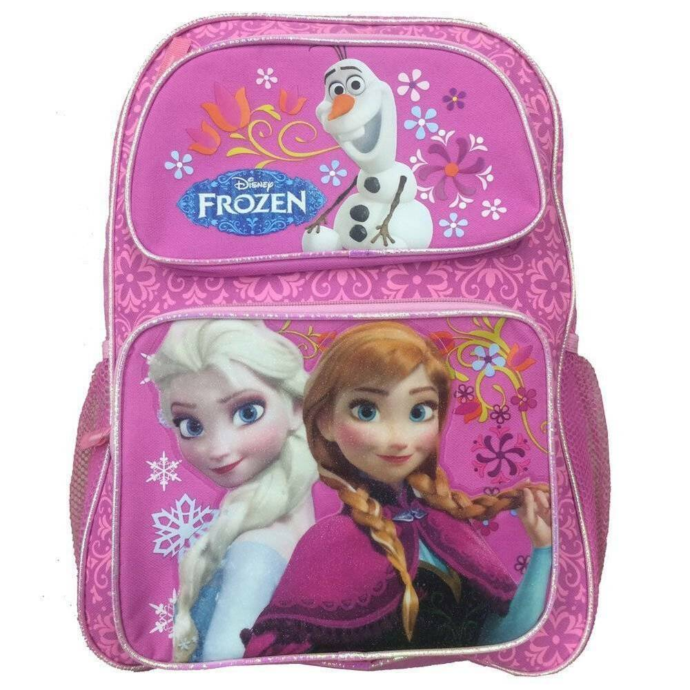 Nwt disney frozen large 16 elsa anna olaf school - Frozen anna and olaf ...