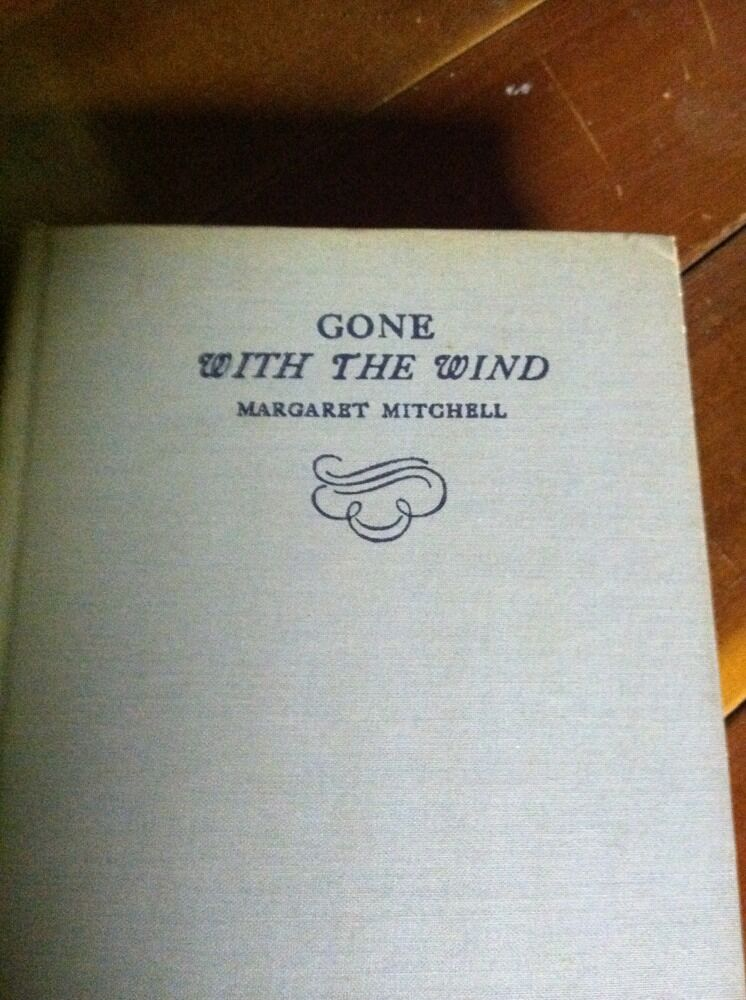 with the wind 1946 ten year edition vg margaret